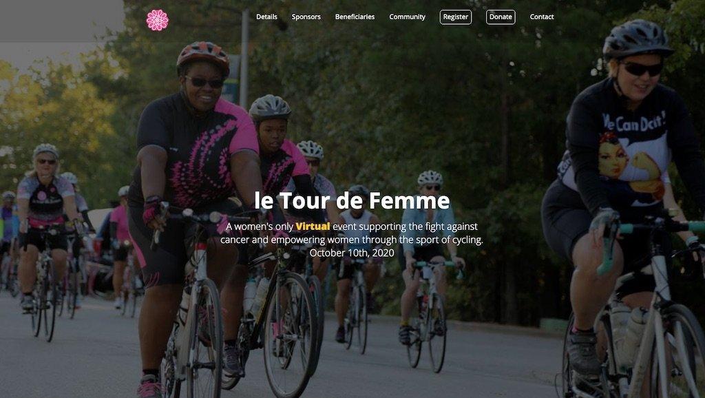 Go Bob? or Go Bald? by supporting le Tour de Femme