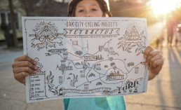 The Tetractus Trail Challenge Map